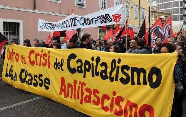 Gorizia. In piazza contro il fascismo e il militarismo