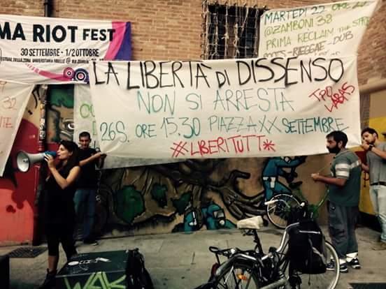 Costruire la risposta alla repressione
