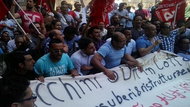Comunicato sulla giornata di lotta davanti i magazzini di SDA a Roma