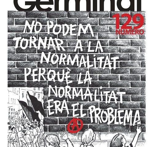 """È uscito il """"Germinal"""" n. 129 (con l'inserto storico """"Il Germe"""")"""