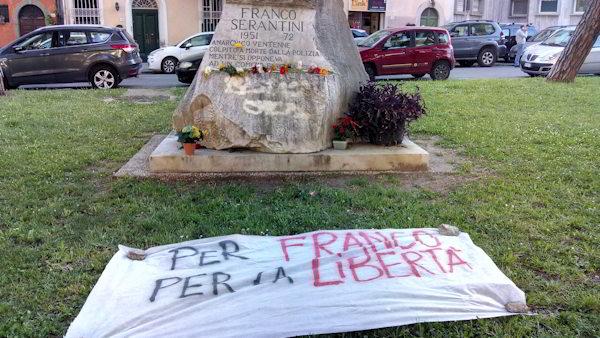 Franco Serantini – noi non dimentichiamo