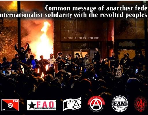 Solidarietà internazionalista a chi si ribella negli USA
