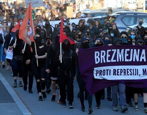 Proteste popolari in Slovenia