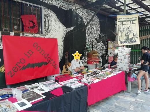 Fiera dell'editoria Anarchica e Libertaria 1 e 2 agosto 2020 in Cascina Torchiera Senz'acqua