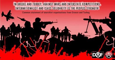 In Grecia e in Turchia, contro le guerre e la competizione tra gli stati