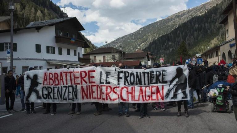 Processo per gli scontri al Brennero