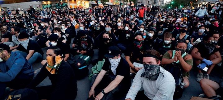 La crisi U.S.A. tramite la lente dell'anarchismo sociale