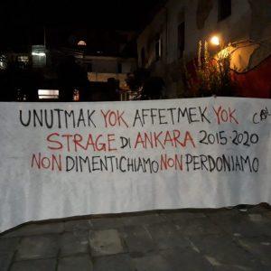5 anni dalla strage di Ankara – Non dimentichiamo non perdoniamo