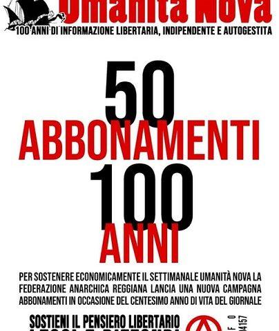 50 abbonamenti per cento anni