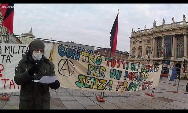 Antimilitarismo in piazza