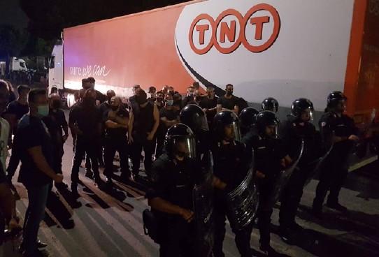 La lotta dei lavoratori Fedex-TNT