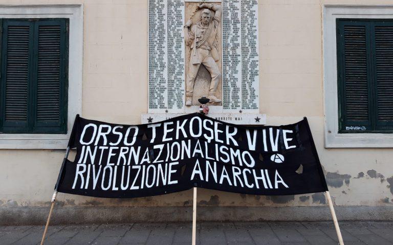 18marzo:PerLorenzo,perilRojava,perlalibertà!