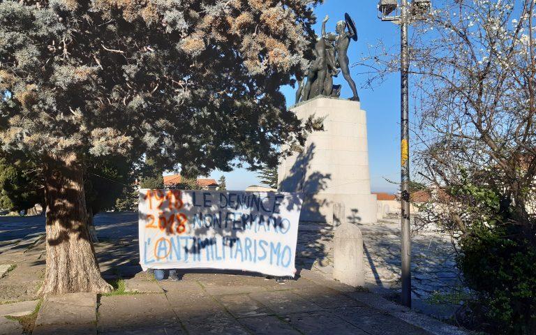 Le denunce non fermeranno l'antimilitarismo. Il 3 novembre 2018 a Gorizia c'eravamo tutte e tutti!