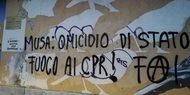 Musa: omicidio di stato al CPR di Torino (agg.al 25 maggio)