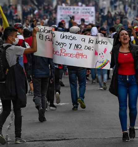 Colombia. Povertà, repressione e omicidi