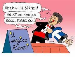 Gli effetti speciali di Matteo Renzi