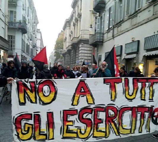 Per una campagna antimilitarista. Via le truppe italiane dall'Africa! No al militarismo, no alla guerra!